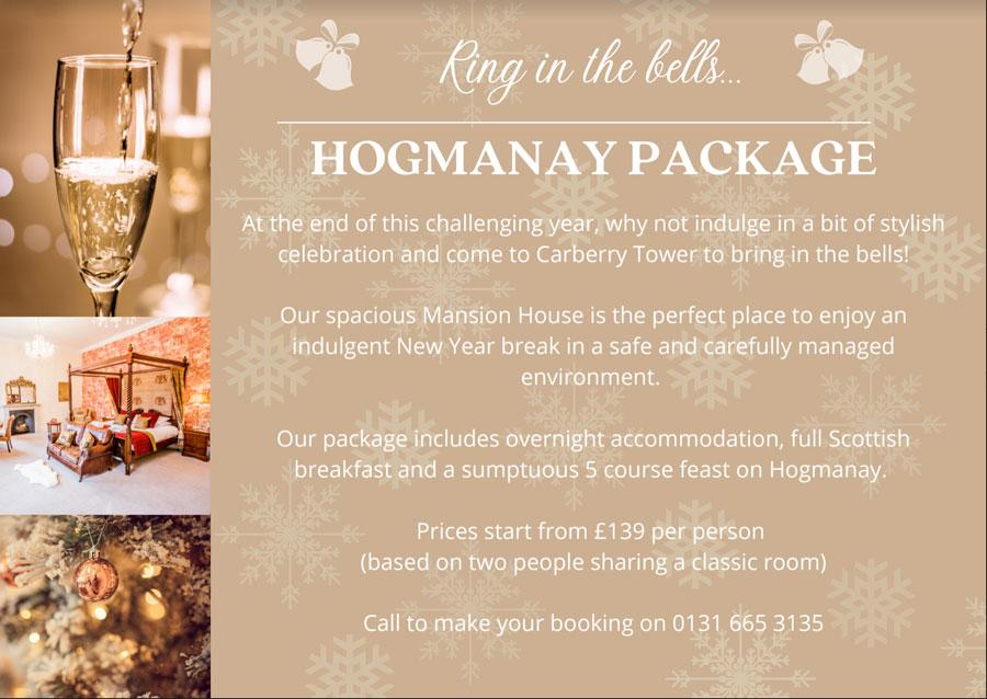 Hogmanay Package