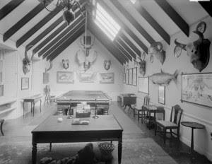 Original Trophy Room 1910